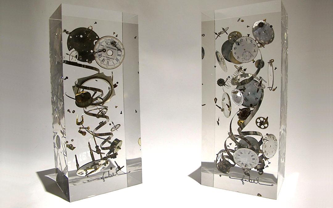 O'Clock/Garde-Temps/Cristal de synthèse